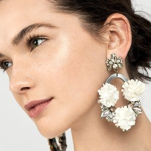 Ice Lily BaubleBar Hoops